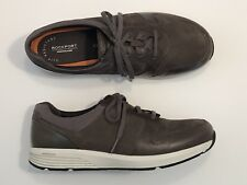 Women's Size 11XW  Rockport Prowalker Brown Suede Athletic Shoes