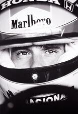Ayrton Senna Large A2 Print  FREE POSTAGE ON THIS ITEM