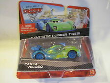 NIP - Disney Cars 2 Diecast Carla Veloso 1:55 Scale w/ Synthetic Rubber Tires