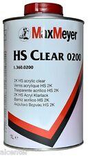 1 Liter 2K HS Klarlack 0200 MaxMeyer Hochglanz