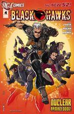 Blackhawks #4 Comic Book 2011 New 52 - DC
