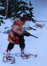 Hunter Rifle Snowshoes by Phillip Goodwin