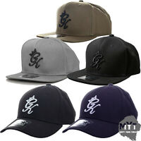 Gym King Genuine Mens New Pitcher Baseball Snapback Cap One Size Various Colours