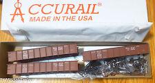 Accurail HO #37454 Illinois Central (3 Pack) 41' Steel Gondola's (Plastic Kits)