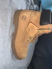 Timberland Guaranteed Waterproof Wheat Boots Size 8 Men's