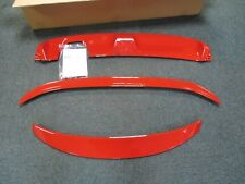 Renault Clio IV GT-Line Red Spoiler Kit Front & Rear + Rear Diffuser 7711433966