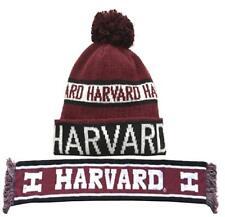 Harvard Bufanda y POM POM Sombrero conjunto