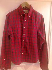 chemise en coton ecossais marque ABERCROMBIE taille S