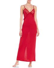 La Perla Studio L Long Negligee Nightgown Valentine Red Jersey Knit New