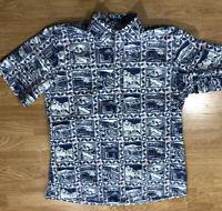 Reyn Spooner National Parks Classic Fit Aloha Shirt Mens SZ M Limited Edition
