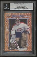 2003-04 ITG BAP Ultimate Patrick Roy Goaltender Game Used Jersey 2/20