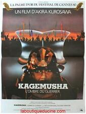 KAGEMUSHA Affiche Cinéma / Movie Poster 60x40 Akira Kurosawa