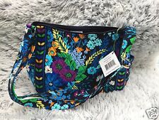 Vera Bradley MIDNIGHT BLUES On The Go Bag Purse NWT