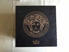 "Translucent Versace Glass Christmas Ornament ""Cortege de Noel"" in Original Box"