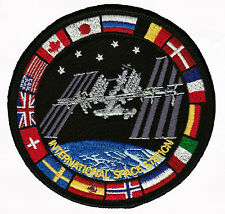 Genuine AB Emblem ISS International Space Station Flags NASA Space Patch