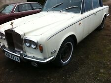 Rolls Royce Shadow 1, 1975, barn find, been laid up, engine runs, requires TLC