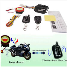 Motorcycle Alarm System 2Way Different In Accordance To Theft Mode RemoteControl