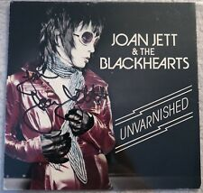 Autographed JOAN JETT & The Blackhearts  Unvarnished CD SIGNED Beckett Ceritfied