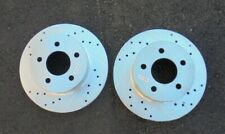 (1) Pair Power stop Brake Rotors 2010 Ford F150 6 Lug Left & Right Wheels Rims
