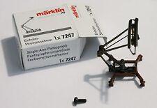 Marklin 7247 Single Arm Pantograph, For Many Modern Märklin Electric Locomotives