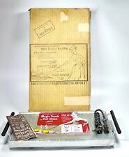 Vtg Salton HT-2T Hotray Warming Hot Tray Mid Century Catering Works ORIGINAL BOX
