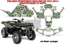 AMR RACING DEKOR GRAPHIC KIT ATV POLARIS SPORTSMAN MODELLE URBAN CAMO B