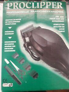 ProClipper Professional Haircutting Set. NEW English Instr