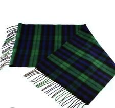 urban outfitters Green Tartan Scarf Soft Cashmere New With Labels Rrp £32
