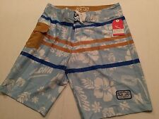 LOST ENTERPRISES BOARDSHORTS  LOST AT SEA ART COLLECTION 4 Way Strecth SIZE 32