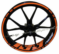KTM Duke Racing 125 - wheelsticker Felgenaufkleber Motorrad Sticker