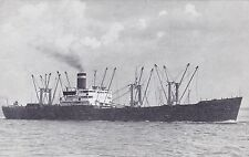 United States Lines Cargo Ship Avertising  Postcard