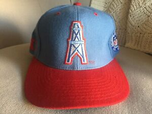 NFL Houston Oilers Starter Baby Blue Fitted 7 1/8 Hat