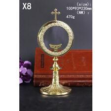 Customized Brass Monstrance Reliquary Luna holder L100mm×W93mm×H230mm