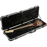 SKB-44 Jazz P Style Bass Guitar HeavyDuty Hard Case w/ TSA Locks Trigger Release
