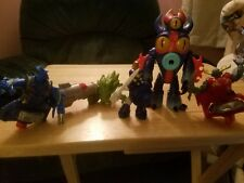 Skylanders Mixed LOT OF 5 Kids Meals Toys Fast Food Chop Chop etc