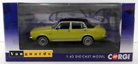 Vanguards 1/43 Scale Diecast VA06310 - Morris Marina 1.8 TC Jubilee Citron