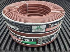 "Master Mark PlasticsTerrace Board Landscape Edging Coil Brown 3"" x 40 Pack of  2"