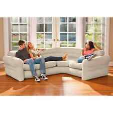 Intex Inflatable Air Corner Sofa/Couch Waterproof Flocked 257x203x76 cm 68575NP