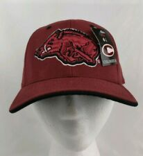 NCAA Arkansas Razorbacks Colesseum Embroidered Fitted Hat  Cap Deadstock NWT