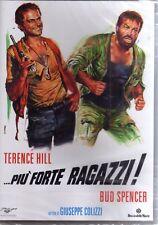 PIU FORTE RAGAZZI con Terence Hill Bud Spencer medusa 89 minuti - DVD NUOVO
