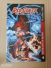 Brand new Red Sonja worlds away Vol.4 graphic novel Dynamite Entertainment
