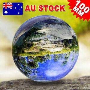 100mm Glass Crystal Healing Ball K9 Photography Clear Lens Ball Sphere Decor