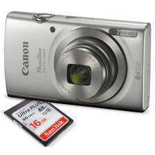 Canon PowerShot ELPH 180 Digital Camera (Silver) + 16GB SDHC Memory Card + Mi...