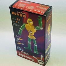 3x Supermag Ultra Biker Magnet Konstruktion Set 44 Teile ab 6 Jahre 0422