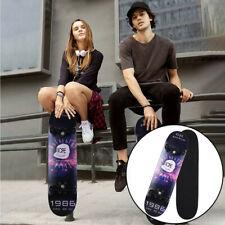 """Skateboard 7 Layers Decks 31""""x8"""" Pro Complete Skate Board Maple Wood Longboards"""