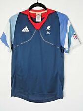ADIDAS London 2012 Great Britain Paralympic T-Shirt Blue Size UK32/34 BNWOT