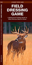 Field Dressing Game Hunting Food Emergency Survival Guide Bug Out Bag Kit Book