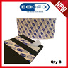 8X NUMBER PLATE ADHESIVE STRIPS STICKY PADS HEAVY DUTY DOUBLE SIDED FIXING KIT