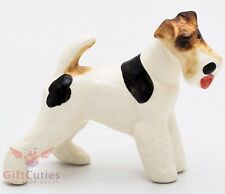 Porcelain Figurine of the Fox Terrier dog
