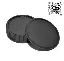 Body Cap & Rear Lens Cap Set for all Leica L39 M39 Screw Thread Cameras & Lenses
